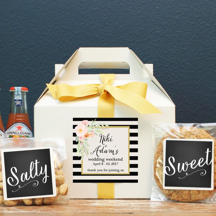 28 Best Wedding Welcome Boxes Images On Pinterest Wedding
