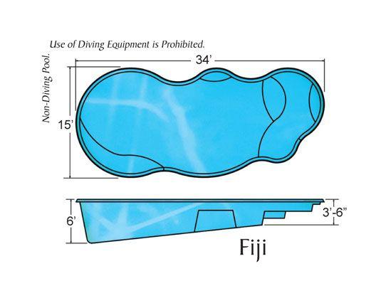 Viking Pools | Free Form Designs - Fiji | Pool Ideas