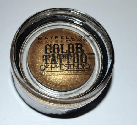Maybelline Color Tattoo in Bold Gold
