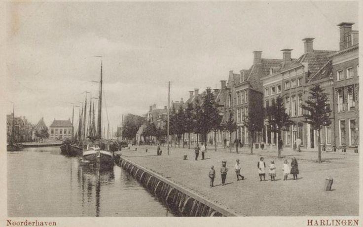 Harlingen - Noorderhaven - poststempel 1921