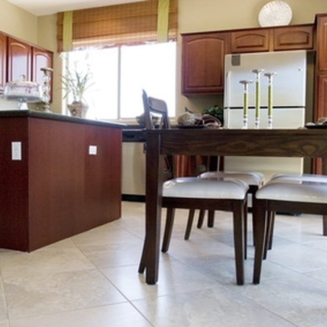 How To Refinish Kitchen Cabinets: How To Fill Grooves & Refinish A Wooden Kitchen Table