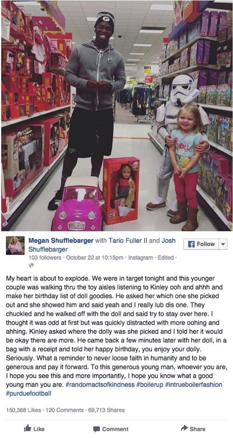 2-year-old Kinley was about to turn 3. But when she told a stranger in the toy a… – Joelle Thompson Perez