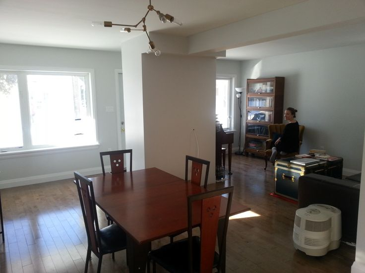 dining / living area [den is separate]