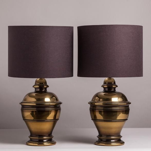46 best lamps images on pinterest table lamp buffet lamps and talisman a pair of patinated brass table lamps usa 1950s aloadofball Image collections