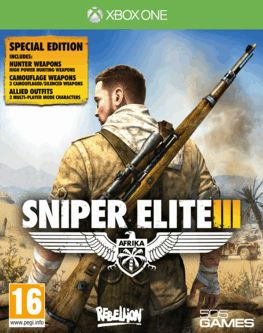 Sniper Elite III Special Edition - Only at Game Xbox One Cover Art