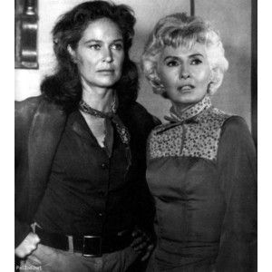 Colleen Dewhurst Barbara Stanwyck The Big Valley