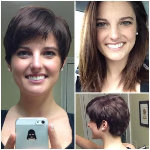 1000+ Images About DIY Hair Cuts Pixie On Pinterest