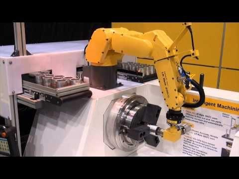 LR Mate 200iC Intelligent Machining Robot - FANUC Robotics Industrial Automation