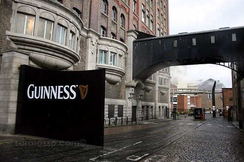 I couldn't resist...Guinness Factory, Dublin, Ireland