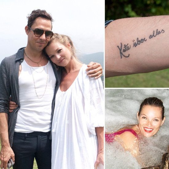 "KATE MOSS'S HUSBAND JAMIE REVEALS NEW ""KATE ABOVE ALL"" TATTOO"