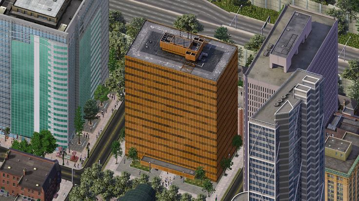 Riverview Office Tower - SimCity 4 Buildings - Simtropolis