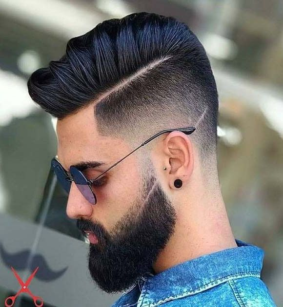 Men Hair Style Fashion 2018 Styles Ideas Hair And Beard Styles Men Haircut Styles Beard Hairstyle
