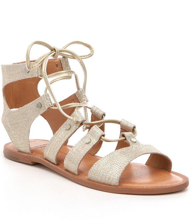 Dolce Vita Jasmyn Ghillie Flat Sandals