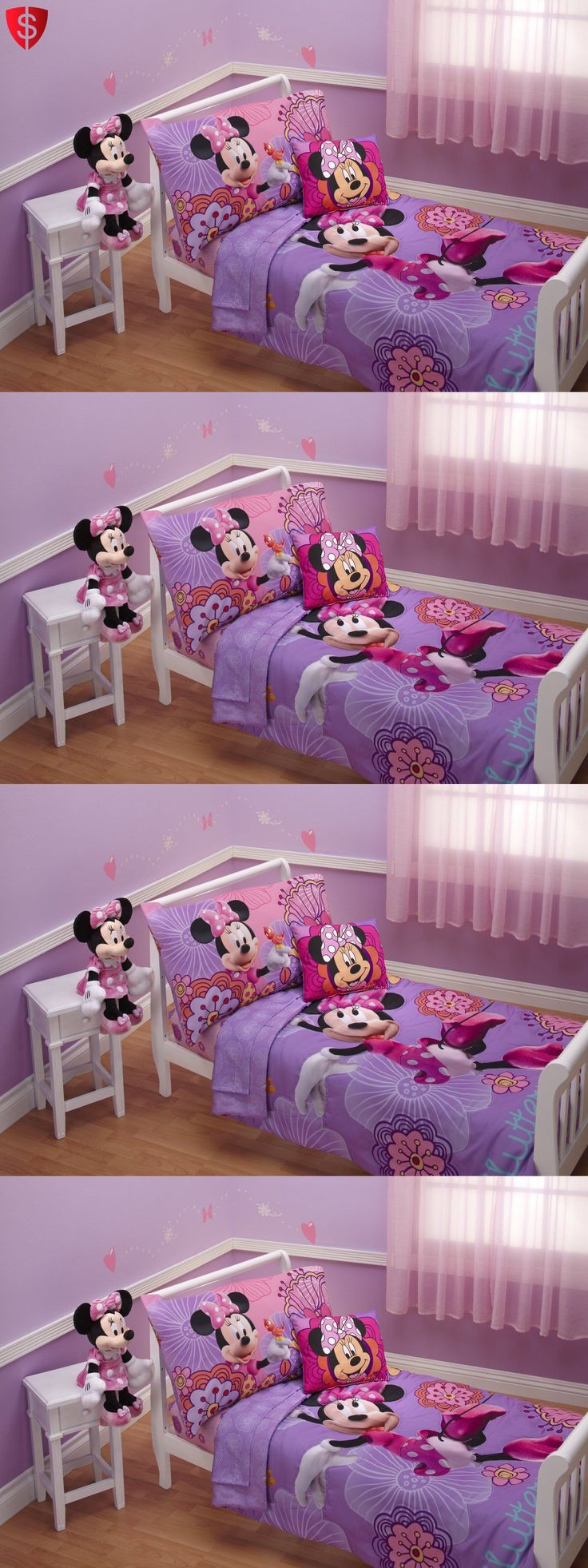 Winnie the pooh toddler bedding - Bedding Sets 66731 4 Piece Minnie Mouse Disney Bedding Set Girls Toddler Comforter Sheets Bed