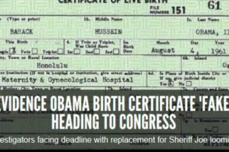 Following Maricopa County Sheriff Joe Arpaio's press conference last week concerning Barack Hussein Obama Soetoro Soebarkah's fake birth certificate that's been stored on the Whit…