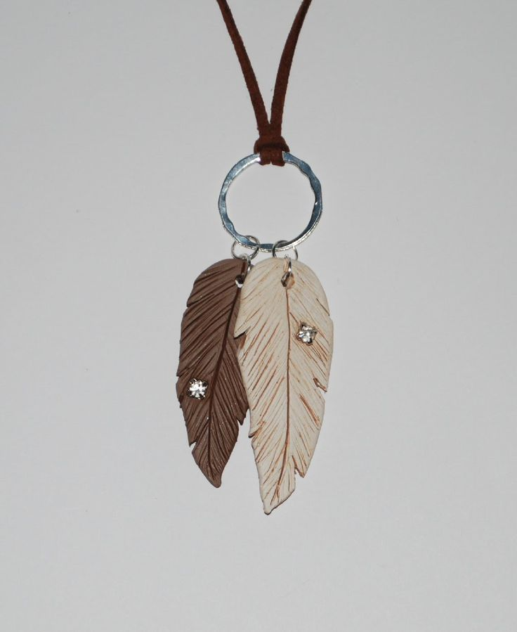 Polymer Clay Feather Pendant Tutorial (Part 2 of 2)