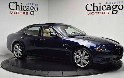 2013 Maserati Quattroporte S Sedan 4-Door 2013 Maserati S 1 OWNER CALI CAR!! LOADED!! CLEAN CAR FAX!! MSRP : $142,489.00