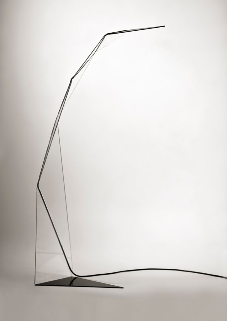 Crane light it is both a floor lamp and a repositionable sculpture the overall