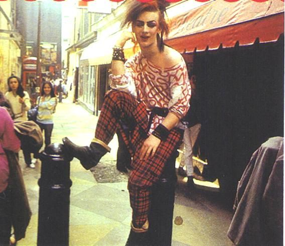 I think this was one of the picture Jon Moss was talking about when he first seen Boy George.