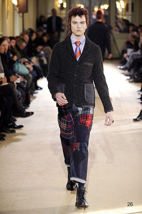 2014-15 AW: Gentlemen Style by COMME des GARCONS JUNYA WATANABE MAN