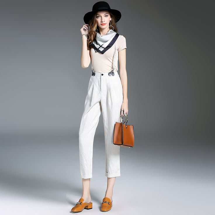 ==> [Free Shipping] Buy Best Dyer Cotton Cultivate Morality Of New Fund Of 2017 Autumn Coat  Linen Suspenders Suit To Send Silk Scarves Online with LOWEST Price   32825576935