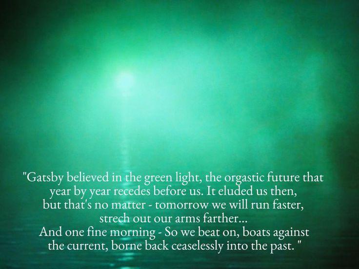 Gatsby flashback quotes