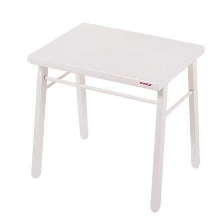 Table d´enfant, bois laqué blanc