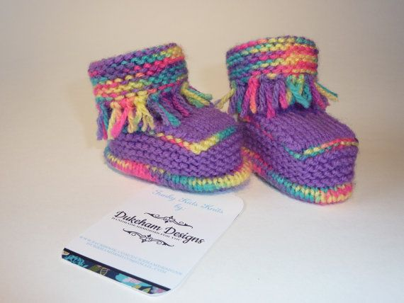 Check out this item in my Etsy shop https://www.etsy.com/uk/listing/234298367/funky-baby-booties-knitted-baby-booties