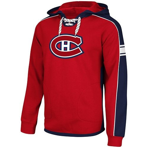 NHL Reebok Montreal Canadiens Faceoff NHL Team Jersey Pullover Hoodie – Red « Ever Lasting Game