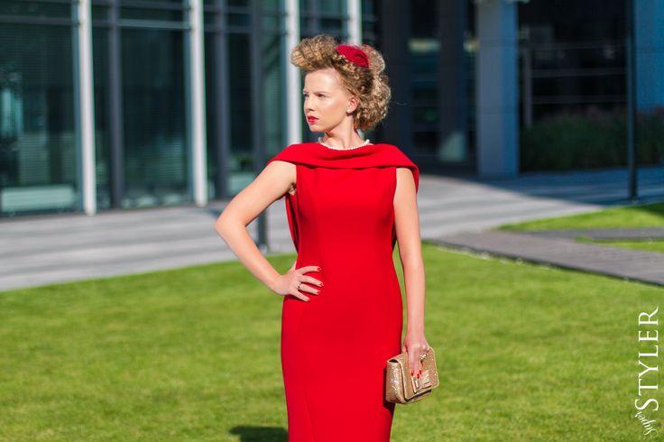 Francja-elegancja #stylizacja #moda #fashion #sukienka #rinacossack #superstyler #blog