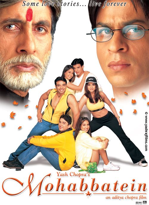 Mohabbatein (2000) | Bollywood Movies | Pinterest ...