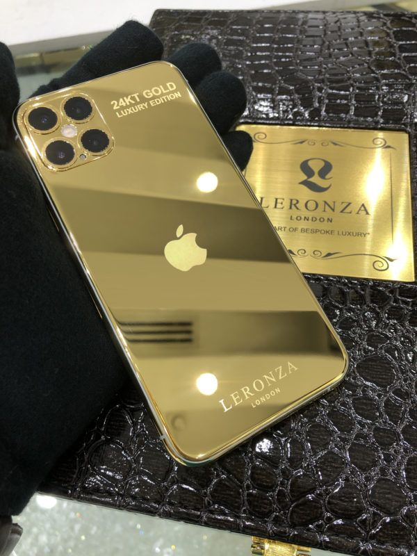 Real Gold Iphone 12 Pro And Pro Max Range Leronza Leronza In 2020 Iphone Gold Iphone Apple Watch Bands