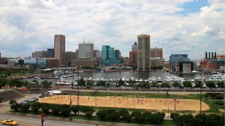 Baltimore ranks well for its high number of park playgrounds, recreation centers and swimming pools. Another draw is Baltimore's Inner Harbor, which sees 13 million visitors a year. Among its attractions is Baltimore Beach, a stretch of sand that's home to 7 volleyball courts.