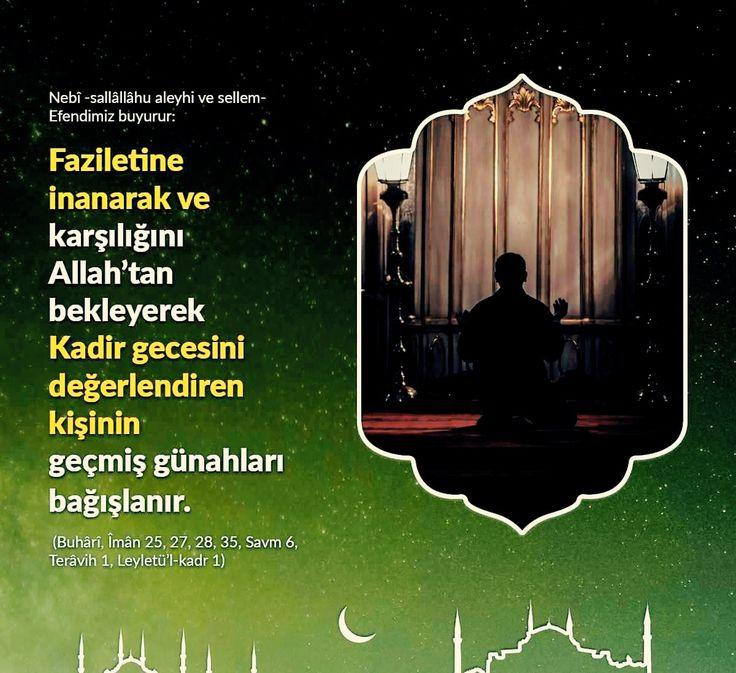 Kadir gecesi.  #kandil #kadirgecesi #kandilinizmubarekolsun #hayırlıkandiller #dua #namaz #istanbul #türkiye #ilmisuffa