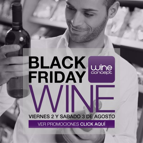 BLACK FRIDAY en Wine Concept