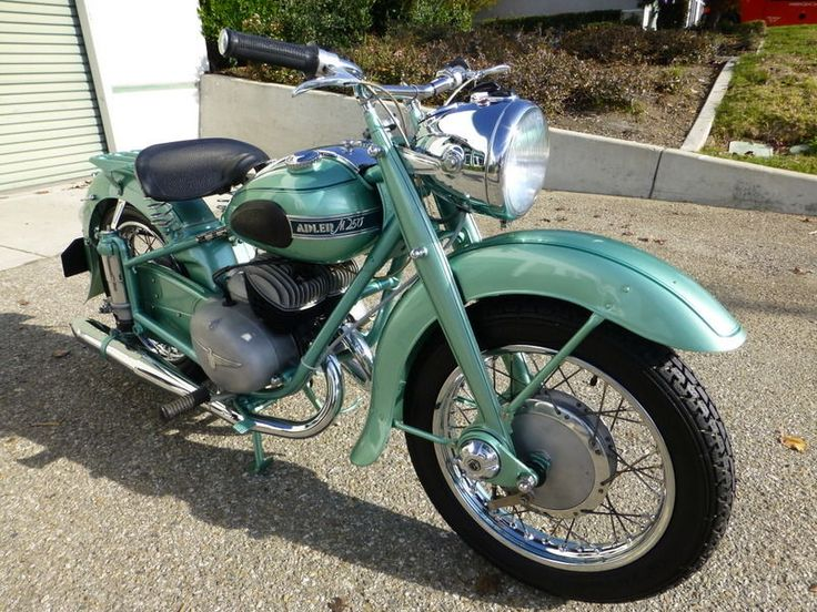1953 Adler M250 Germany Vintage motorcycle