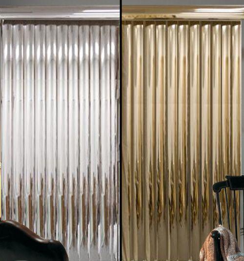 Vinyl Vertical Blinds Mirrored Vinyls