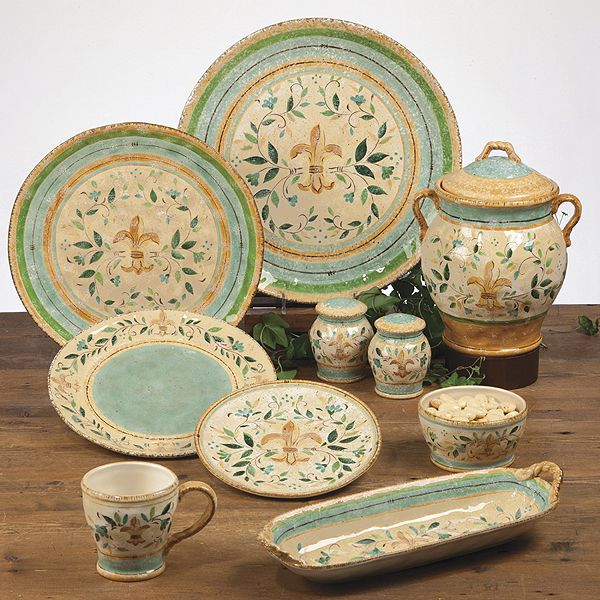 Tuscan Dinnerware | Tuscan Provence u0026 Floral Dinnerware by Certified International . : tuscan dishes dinnerware - Pezcame.Com