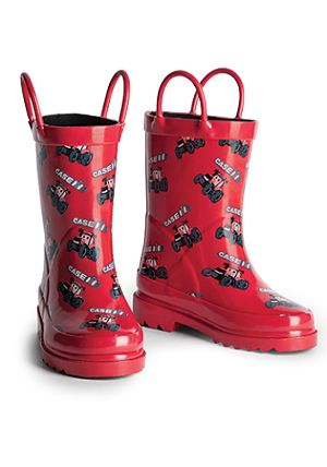 Case IH Kids Rainboots