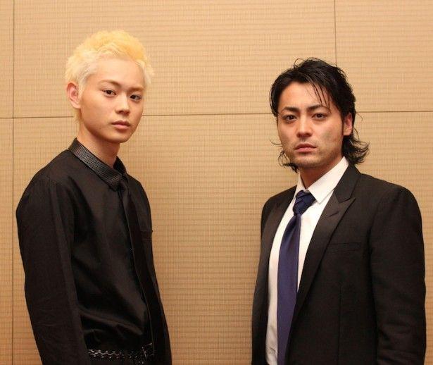 『闇金ウシジマくん Part2』で初共演が叶った山田孝之と菅田将暉