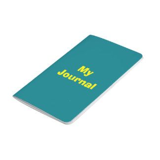 Green and Yellow Journal