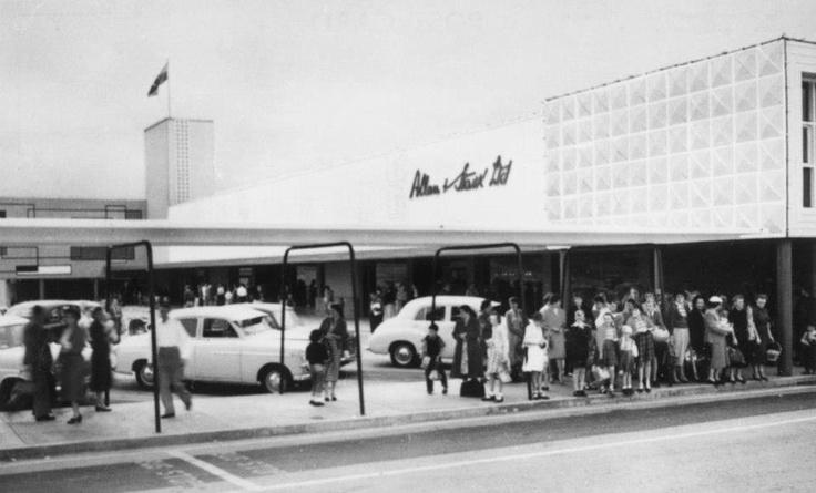 Chermside shopping centre 1957