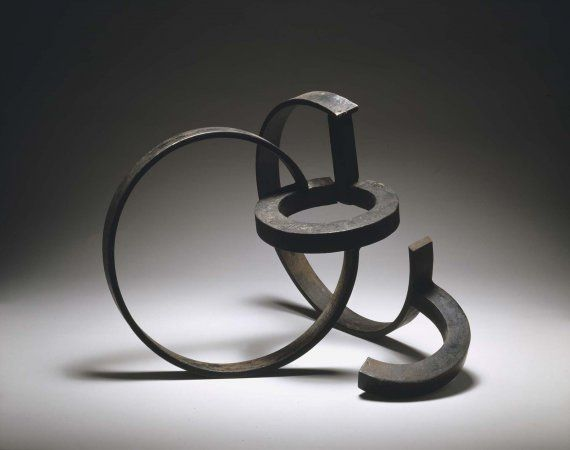 Jorge Oteiza: From the series of unemployment in the area 1957 Steel Technique:  Forging and welding 39 x 50.5 x 49.5 cm