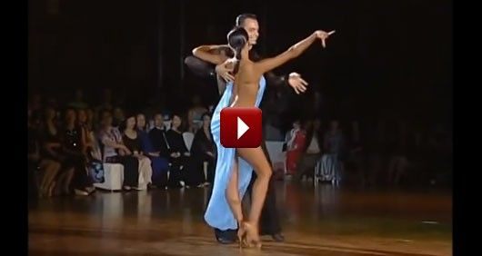 My Jaw Just Dropped On The Floor Watching The World's Best Rumba Dance!