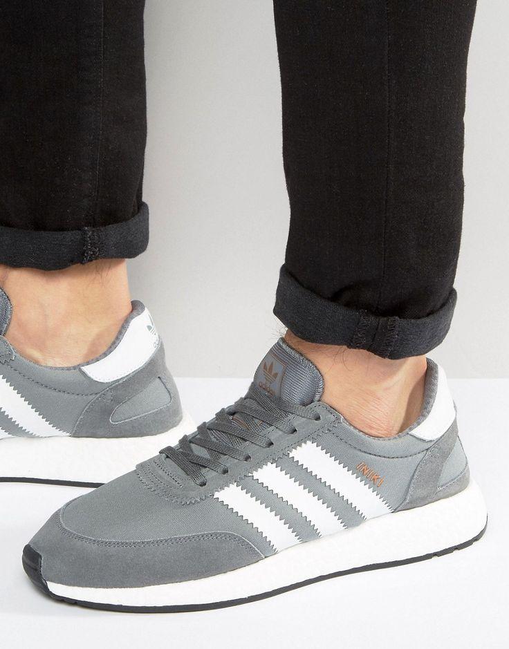 Mens adidas cloudform sneakers black