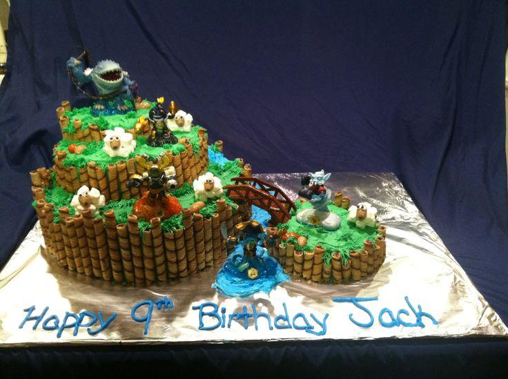 Skylander cake my cake creations pinterest