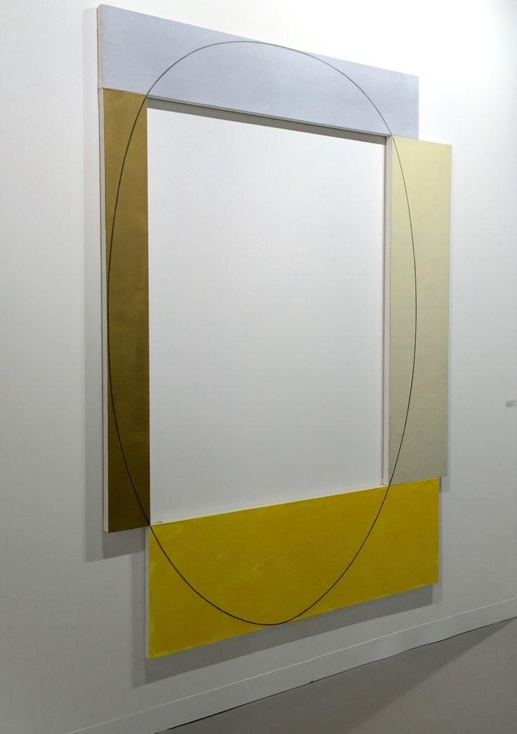 Robert Mangold Art Basel 2016