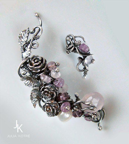 Каффы, авторские украшения JSjewelry