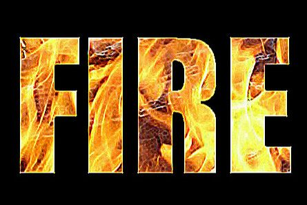 Fire by p.Gordon, via Flickr