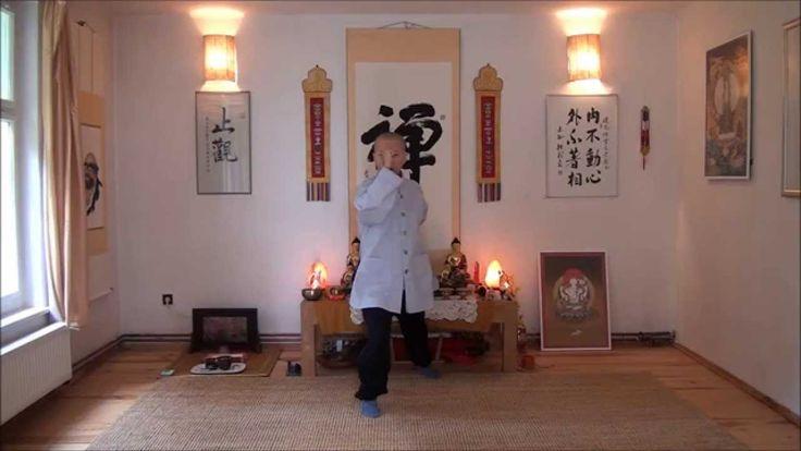 játra jako poslední cvik :)  Čchi-kung s českým komentářem. Cvičí Dhammarama, komentář překládá Bhant...